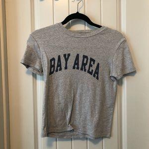 brandy melville bay area tee shirt